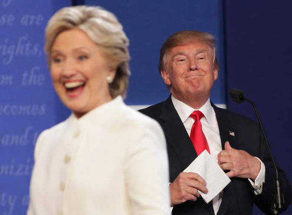 The US elections, Hillary Clinton and Donald Trump
