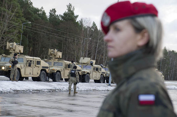 US military in Poland