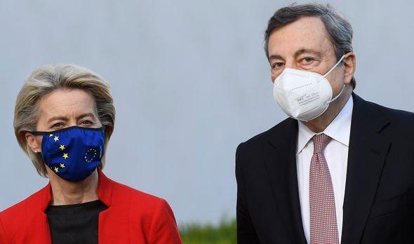Ursula von der Leyen Mario Draghi