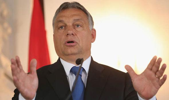 Hungary PM Viktor Orban