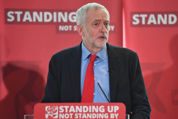 Corbyn at Labour anti-semitism inquiry
