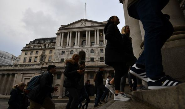 Workers at the Bank of England