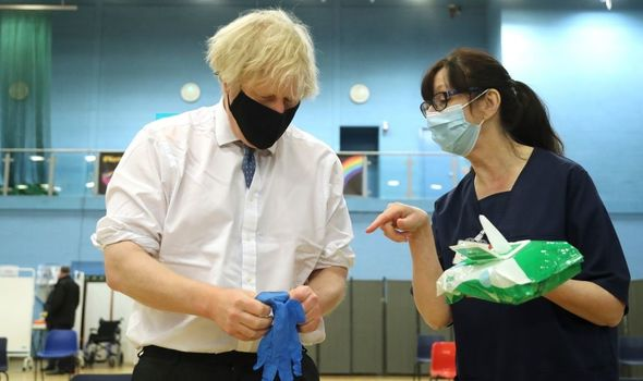 boris johnson lockdown announcement vaccine target news