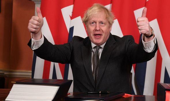 brexit boris johnson trade deal