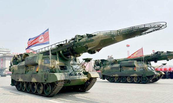 North Korean ballistic missiles