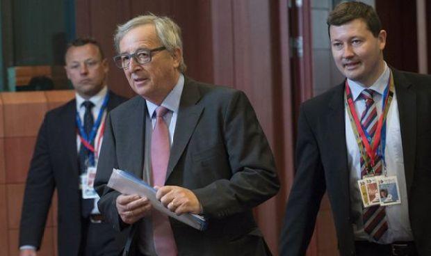 Jean-Claude Juncker with his chief of staff Martin Selmayr