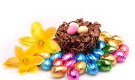 How to make Easter egg nests: Recipe for Easter egg nest cakes