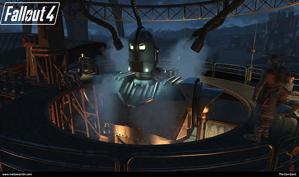 Fallout 4 mods update nexus DLC Iron Giant