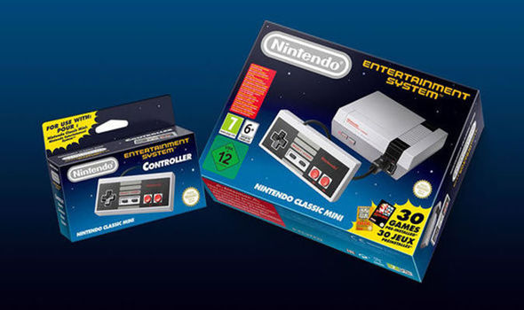 Nintendo Classic Mini NES SNES games Tesco Direct Smyths UK
