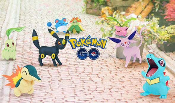 Pokemon Go update Gen 2 Niantic