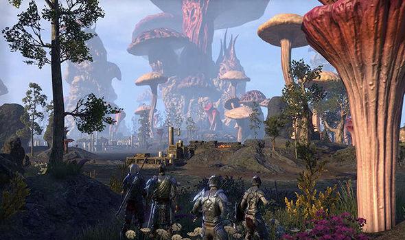 Elder Scrolls Online Morrowind gameplay trailer ESO screenshots