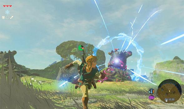 Zelda Breath of the Wild Wii U Nintendo Switch CEMU 4K footage PC