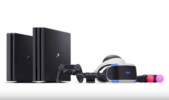 PS4 Pro news update 4K playback media app PlayStation VR