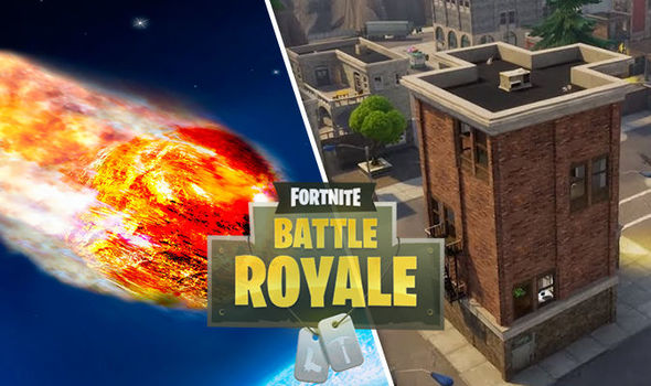 Fortnite Tilted Towers Meteor Strike Isnt The Only MAJOR