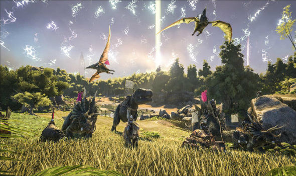 The new ARK Survival Evolved update 1.10 is now live