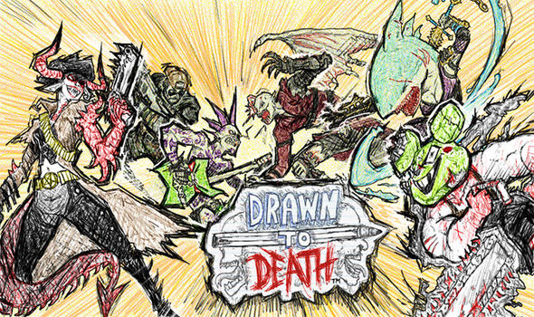 Drawn to Death on PlayStation Plus for PS4