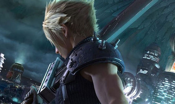 Final Fantasy 7 Remake Cloud screenshot