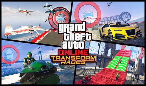 GTA 5 Online Transform Races DLC