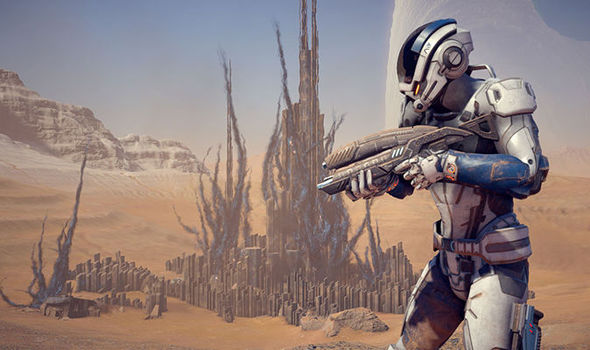 Mass Effect Andromeda Xbox One PS4 screenshot