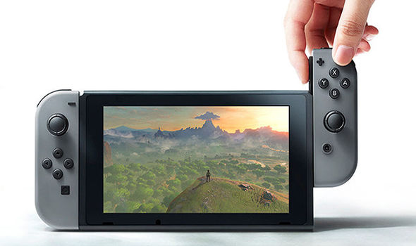 Nintendo Switch handheld console