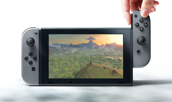 Nintendo Switch GamePad screenshot
