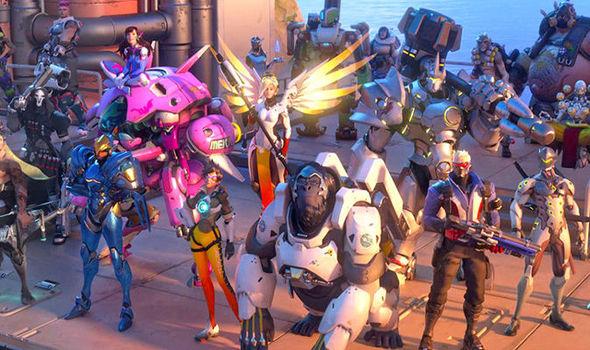 Overwatch character heroes
