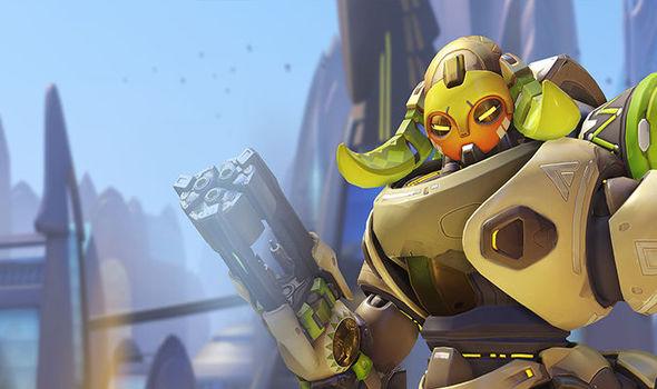 Overwatch hero Orisa