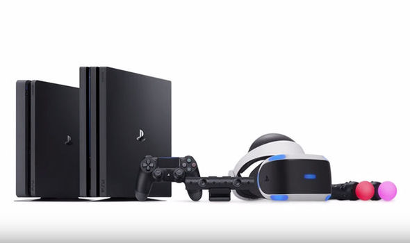 PS4 Pro and PlayStation VR