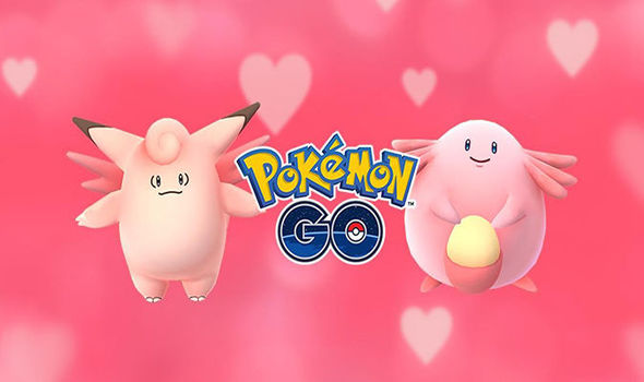 Pokemon Go valentine's event
