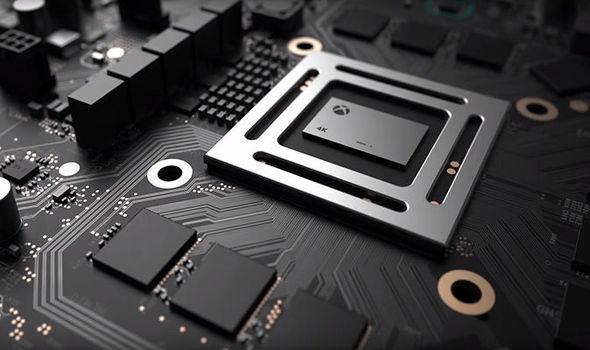 Project Scorpio 4K chip