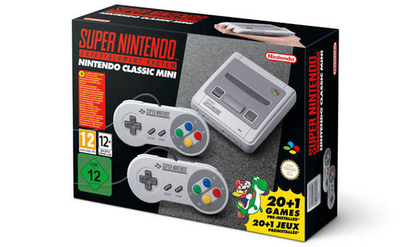 SNES Classic Mini pre-orders will soon be available on the Argos website