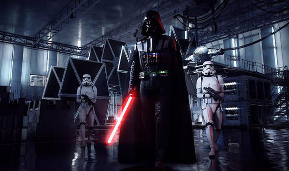 Star Wars Battlefront 2 Darth Vader