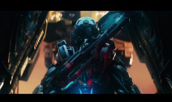 WATCH: Xbox One's Halo 5 Guardians can't resist showing ...