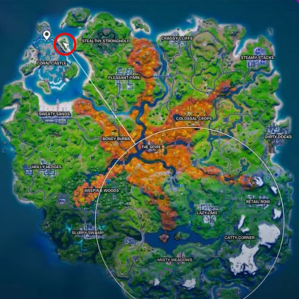 Fortnite bouncy egg locations