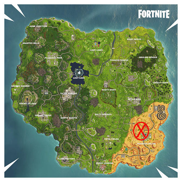 Fortnite corrupted areas