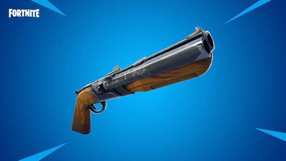 Fortnite double-barrel shotgun