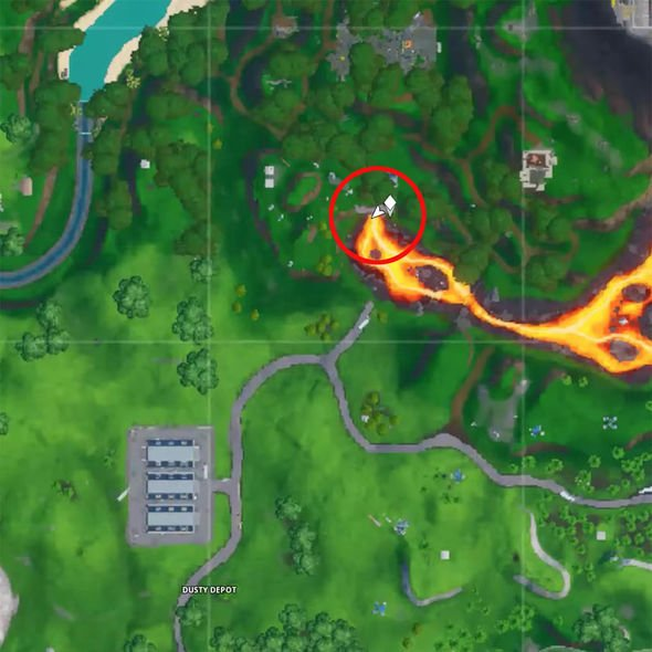 Fortnite lost spray cans map locations