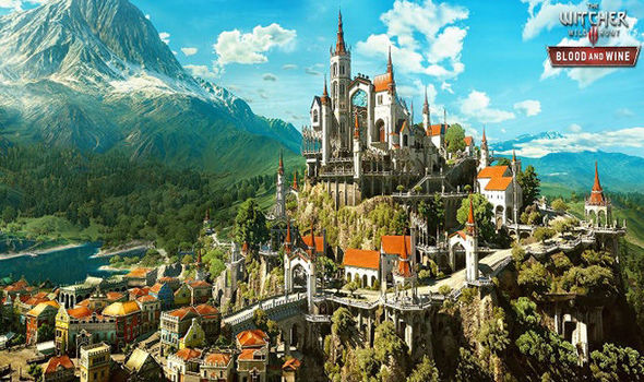 Witcher 3 Map Blood And Wine