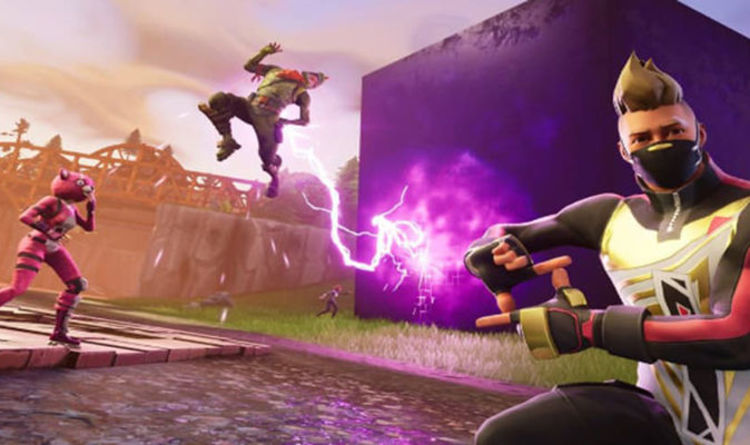 Fortnite update 1 72  Epic Games launch new PS4 and Android patch     Fortnite Week 9 loading screen hidden banner Battle Star location REVEALED