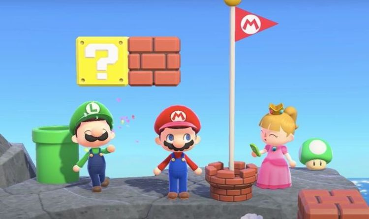 Animal Crossing New Horizons Super Mario items list and release date for Nintendo Switch
