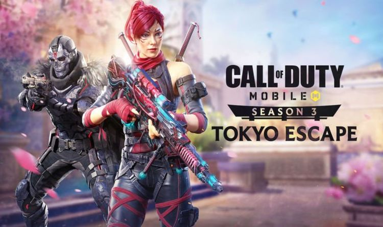 Call of Duty Mobile Season 3 Tokyo Escape release date, launch time, UPDATE patch notes