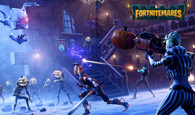 Fortnite Battle Royale COUNTDOWN Halloween Event End