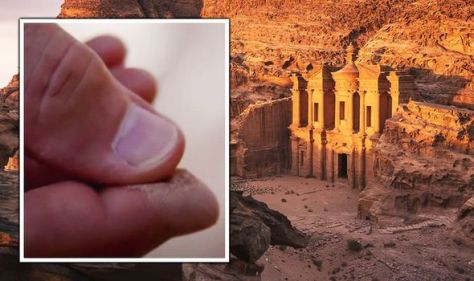 Archaeologists stunned by strange discovery at city of Petra: 'Doesn't belong here'