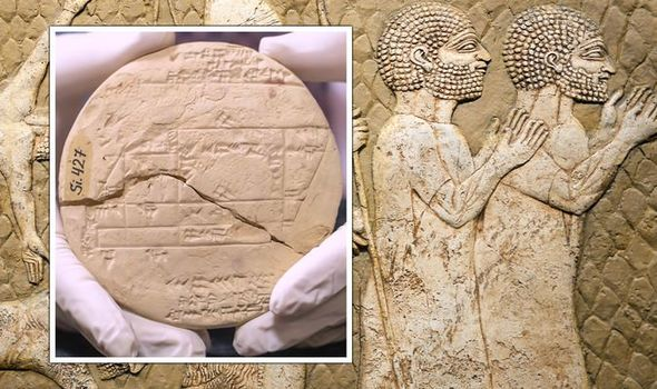Ancient Babylon: A tablet was found containing Pythagoras' Theorem long before he lived