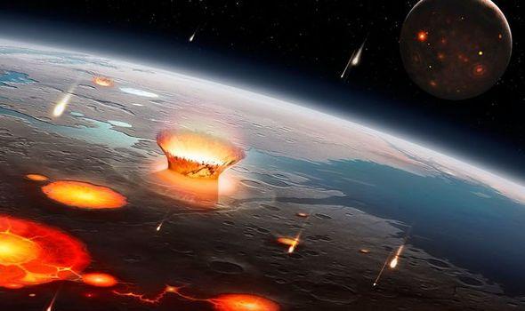 Asteroid swarm