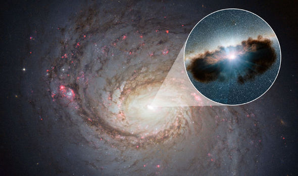 REVEALED: Inside the heart of a galaxy-guzzling ...
