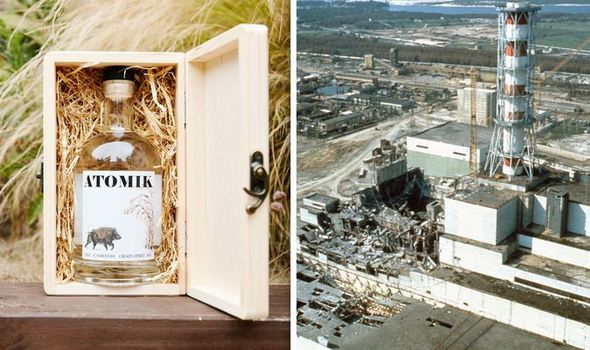 Chernobyl vodka: ATOMIK vodka in Chernobyl