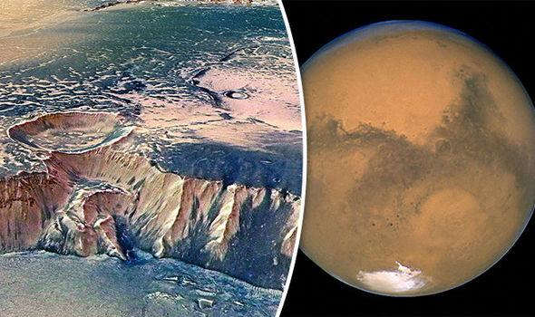Life on Mars Volcanic activity