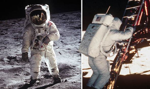 Moon landing SHOCK NASA tapes lost in 1970s expose lunar