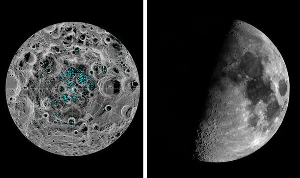 Water on the Moon discovery: Astronomers spy new ice in ...